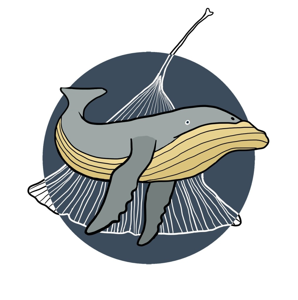 Ginkgo Whale Logo