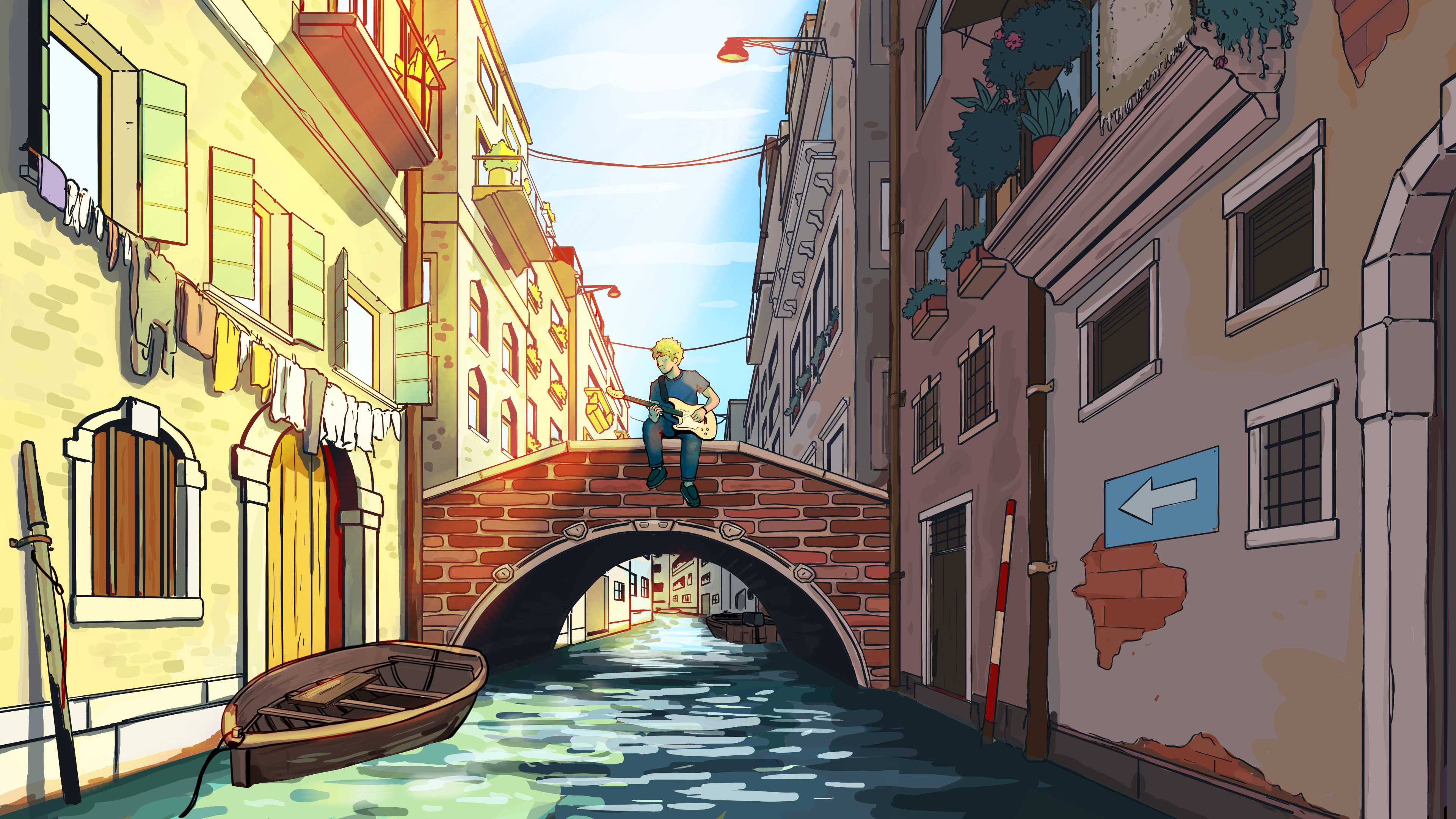 Canal by Ginkgo Whale